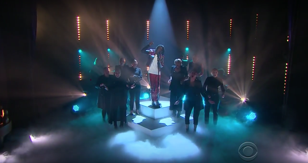 Daniel Caesar on The Late Late Show with James Corden