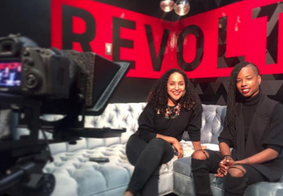 Revolt TV Interview with Erica D Hayes